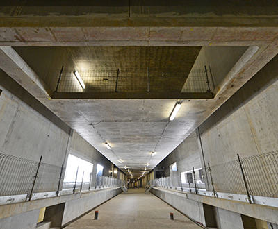 Estação La Courrouze, metro de Rennes