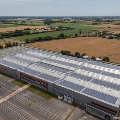 Installation photovoltaïque en toiture à Vieillevigne (44)