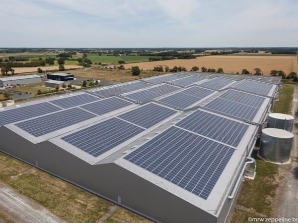 Toitures équipées en solaire à Vieillevigne (44)
