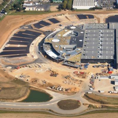 Construction Centre commercial E. LECLERC