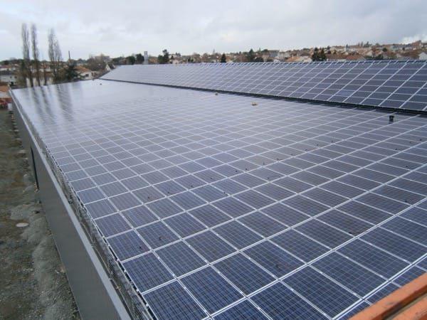Installation photovoltaïque en toiture à Cholet - Batignolles