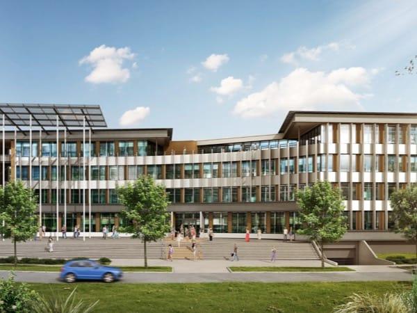 Bâtiment de bureaux DeltaGreen, premier bâtiment de bureaux autonome en énergie en France