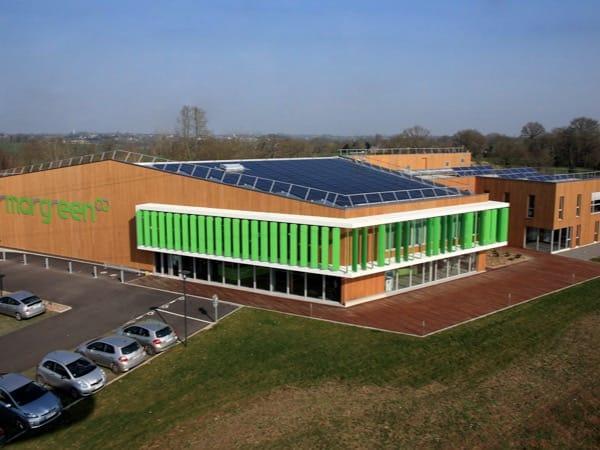 Installation photovoltaïque en toiture à La Mézière (35)