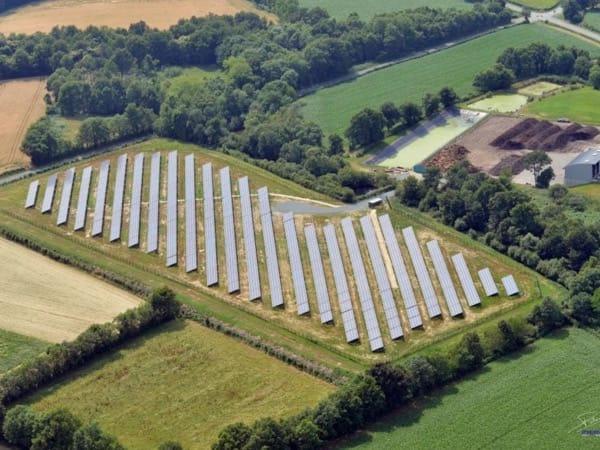 Centrale solaire au sol en Vendée (85)