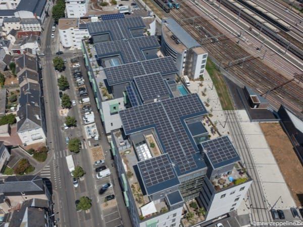 Installation photovoltaïque en toiture à Tours (37)