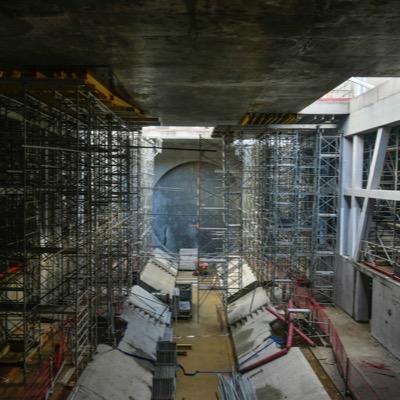 Ligne b du métro automatique de Rennes Lot 1 - Tunnel foré, stations et puits associés