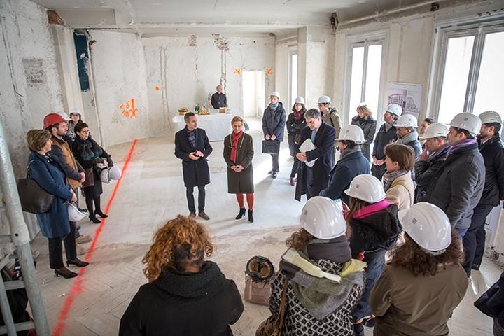 Réhabilitation d'un immeuble dans le 9e arrondissement