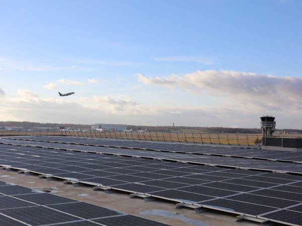 Centrale solaire de l'Aéroport Toulouse-Blagnac