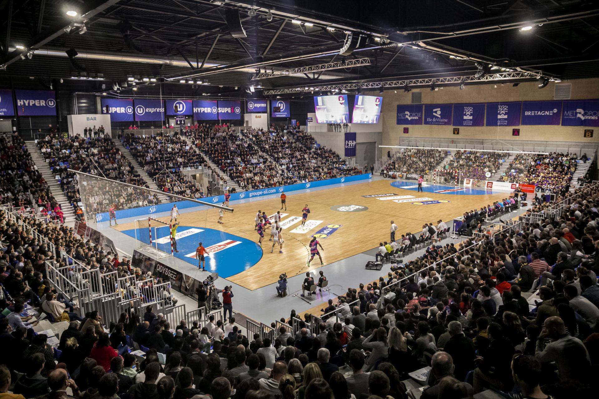 Salle multi-activité Glaz Arena à Cesson-Sévigné