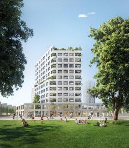 Un programme mixte dans Paris pour le promoteur Legendre Immobilier
