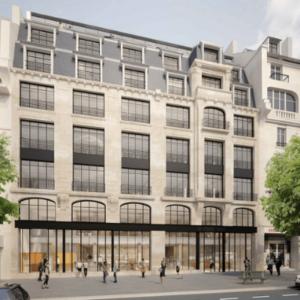 Réhabilitation lourde d'un immeuble de bureaux de 10 000m² dans le 18ème arrondissement de Paris.
