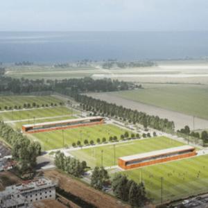 Legendre construira les tribunes en béton du stade Yuri Gagarine au Havre