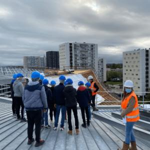 Coulisses du bâtiment - Rennes - Legendre Construction