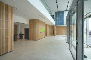 Hall d'accueil Valeo Mobility Tech Center