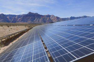 Centrale solaire en Afrique
