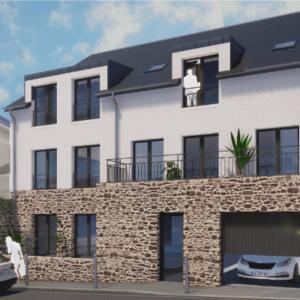 Legendre Construction - Maison Lazare Rennes - @Atelier M3 Grand Ouest