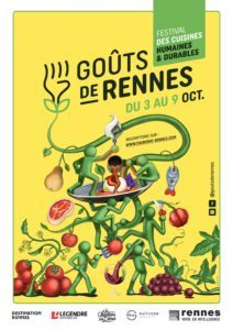Goûts de Rennes - Affiche du festival